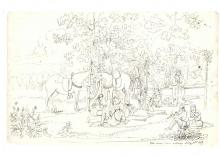 2019.53.5_Sketch_copy - Cards at Kee-waw-knay No 5 by George Winter 1837.JPG