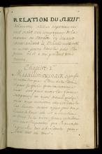 Ayer MS 130 (VAULT) Relation du Sieur de la Motte Cadillac, pg.2_o2.jpg