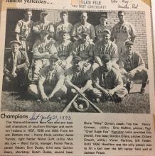 National Standard baseball team