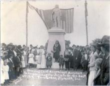 Menominee Statue Dedication: Spetember 4, 1909